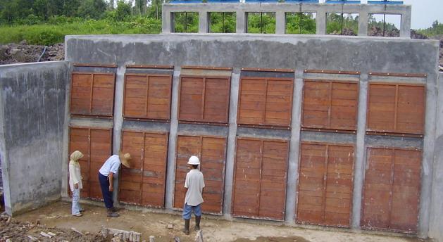 Pekerjaan Pembuatan Pintu Air